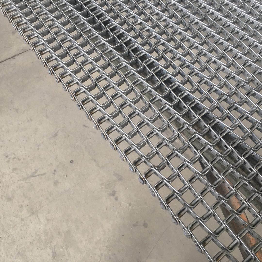 Băng tải lưới inox 304 dạng phẳng