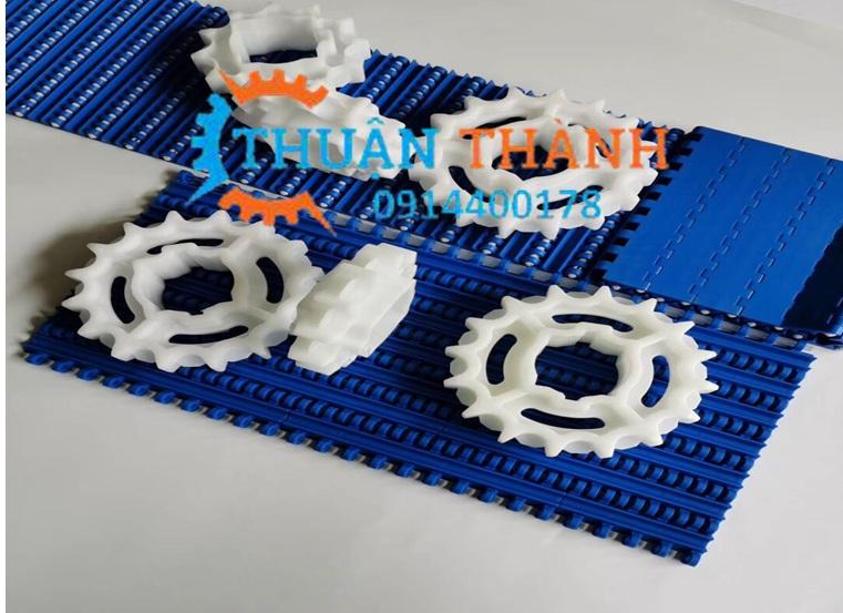 Băng tải nhựa 200 bước 25mm